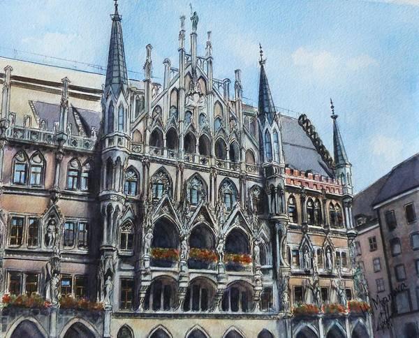 Munich Painting - Munich by Henrieta Maneva