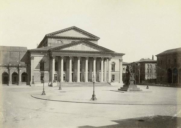 Photograph - Munich National Theatre by Granger