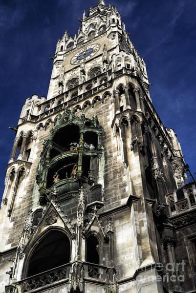 Rathaus Photograph - Munich Rathaus by John Rizzuto