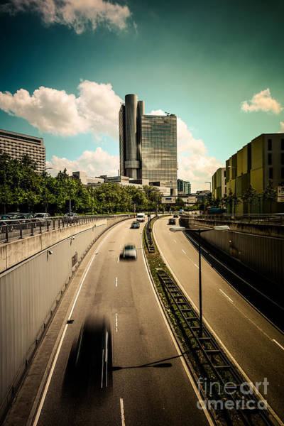 Photograph - Munich Traffic by Hannes Cmarits