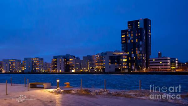 Photograph - Munkangens Sky Line Vasteras by Torbjorn Swenelius