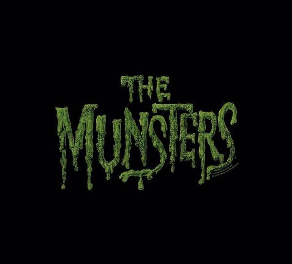 Eddie Digital Art - Munsters - Distress Logo by Brand A