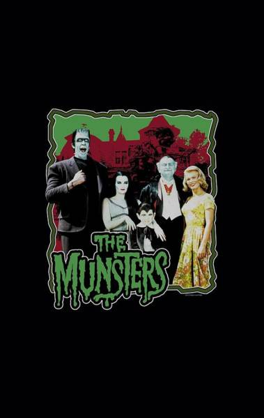 Movie Wall Art - Digital Art - Munsters - Normal Family by Brand A