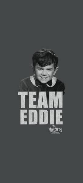 Eddie Digital Art - Munsters - Team Edward by Brand A