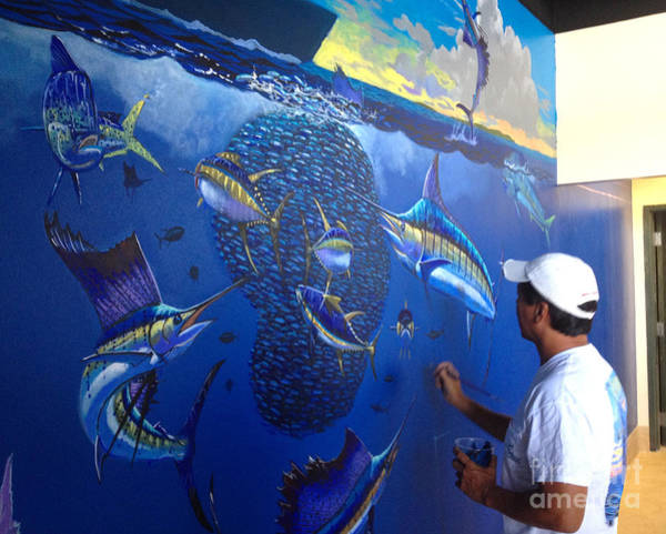 Mural Painting - Mural In Stuart by Carey Chen