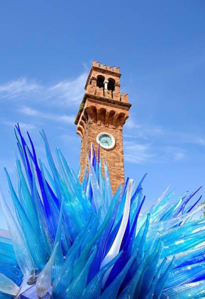 Wall Art - Photograph - Murano Clock Tower by Valentino Visentini