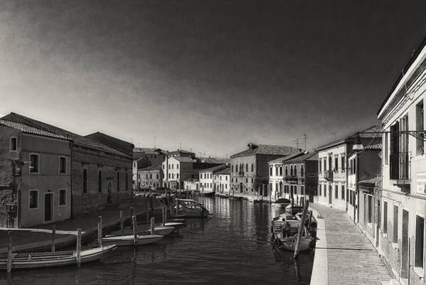 Photograph - Murano's Canal by Roberto Pagani