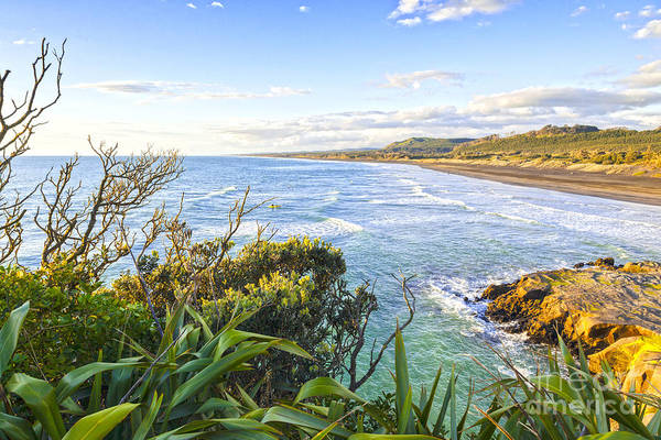 Auckland Photograph - Muriwai Beach Auckland Region New Zealand by Colin and Linda McKie