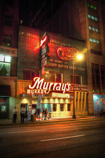 Minneapolis Photograph - Murray's by Bryan Scott