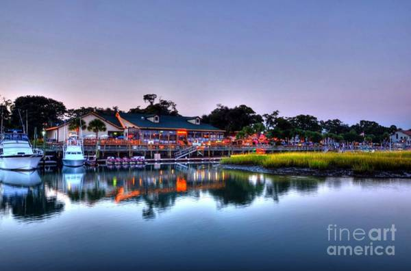 Inlet Photograph - Murrells Inlet Evening by Mel Steinhauer