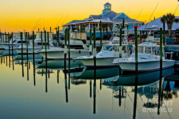 Wall Art - Photograph - Murrells Inlet Marina by Matthew Trudeau