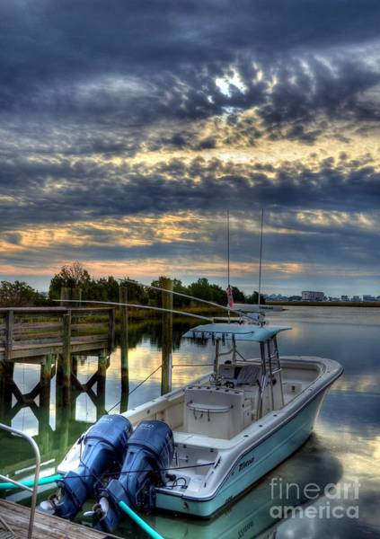 Photograph - Murrells Inlet Morning 4 by Mel Steinhauer