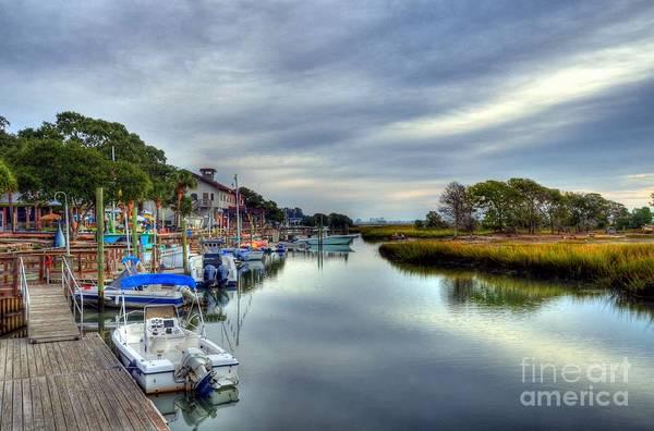 Photograph - Murrells Inlet Morning 5 by Mel Steinhauer