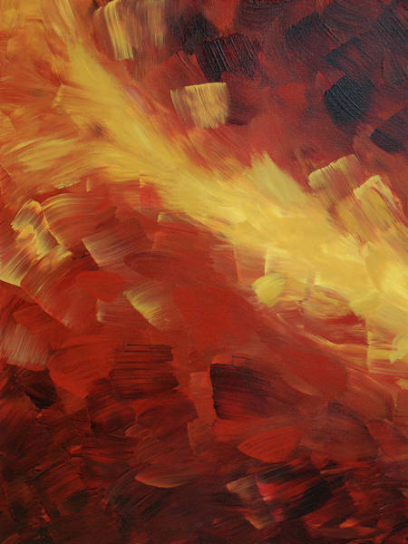 Painting - Muse In The Fire 1 by Sharon Cummings