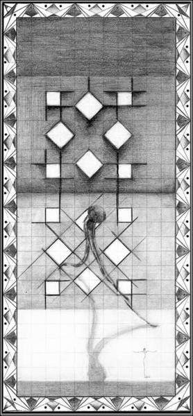 Drawing - 76 by James Lanigan Thompson MFA
