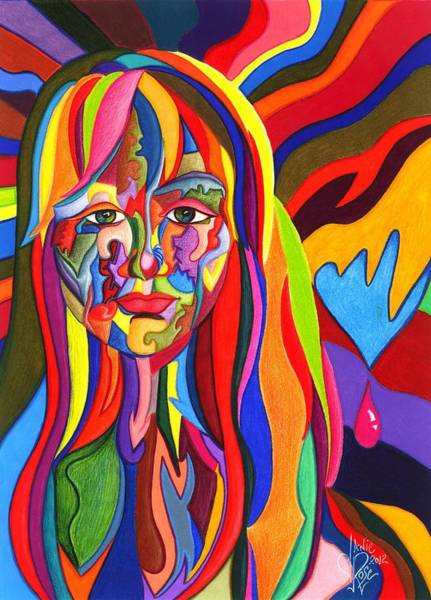 Drawing - Muse Metamorphosis by Danielle R T Haney