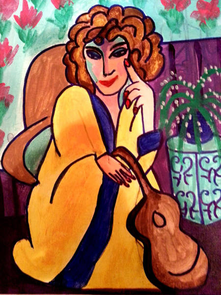 Painting - Muse by Nikki Dalton