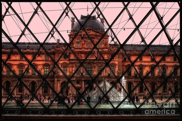 Photograph - Musee De Luvre by Eric Wiles