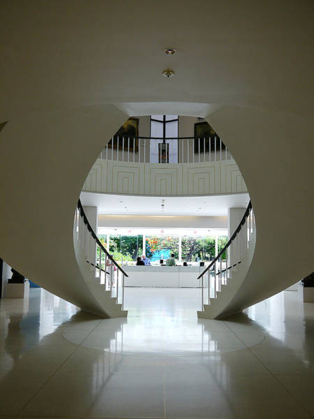 Photograph - Museo De Arte De Ponce - Stairs I by Richard Reeve