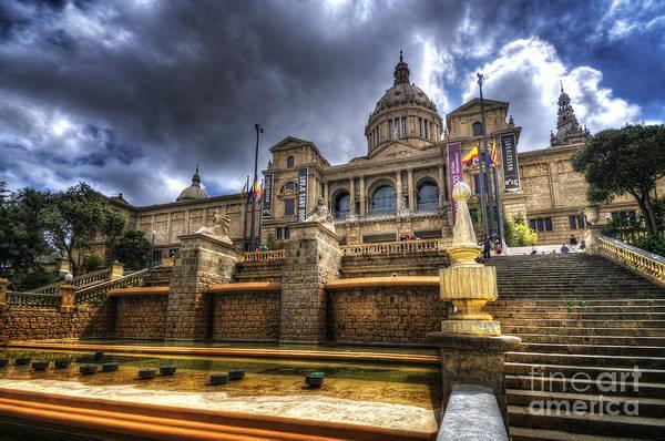 Photograph - Museu Nacional D'art De Catalunya by Yhun Suarez