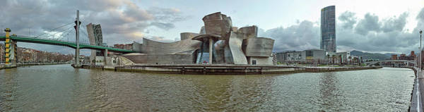Bilbao Photograph - Museum At The Waterfront, Nervion by Panoramic Images