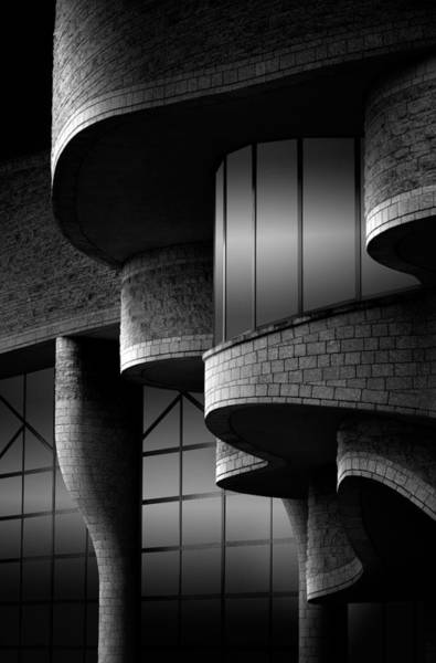 Bricks Photograph - Museum by Louis-philippe Provost