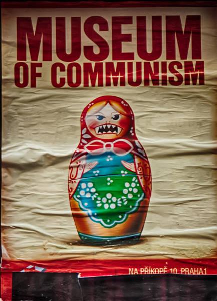 Bloody Fist Photograph - Museum Of Communism by Vessela Banzourkova