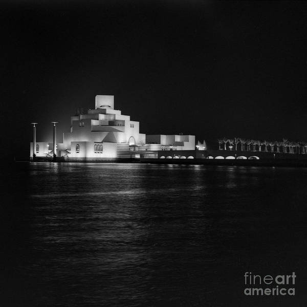 Photograph - Museum Of Islamic Art At Night by Paul Cowan