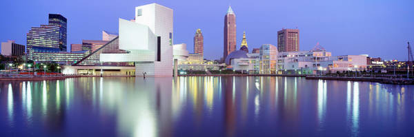 Lakeside Wall Art - Photograph - Museum, Rock And Roll Hall Of Fame by Panoramic Images
