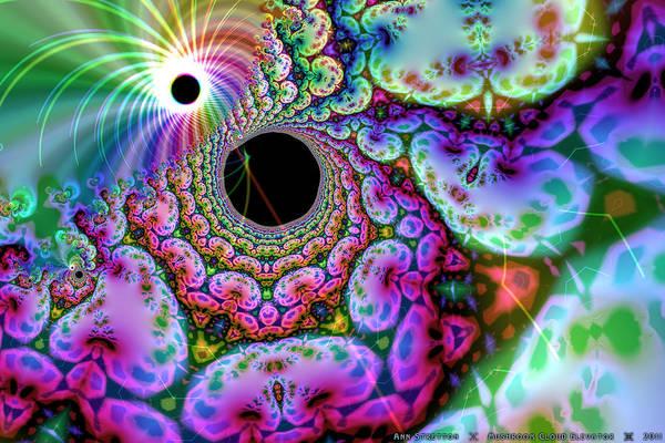 Digital Art - Mushroom Cloud Elevator  by Ann Stretton