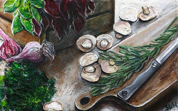 Protein Painting - Mushroom Soop by Natalia Stahl