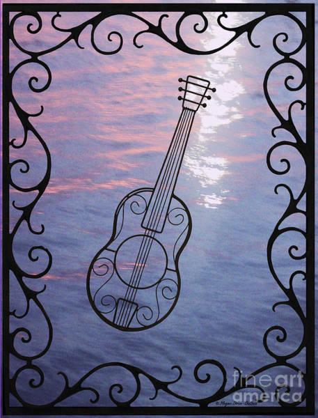 Music And Light Art Print