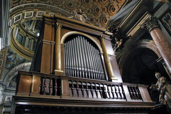 Photograph - Music At St. Peter's by KG Thienemann