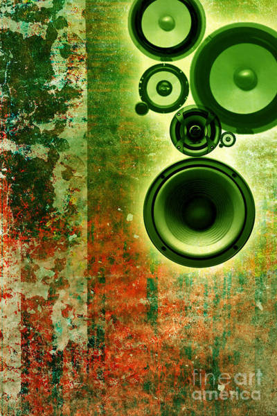 Revolting Digital Art - Music Background by Christophe ROLLAND