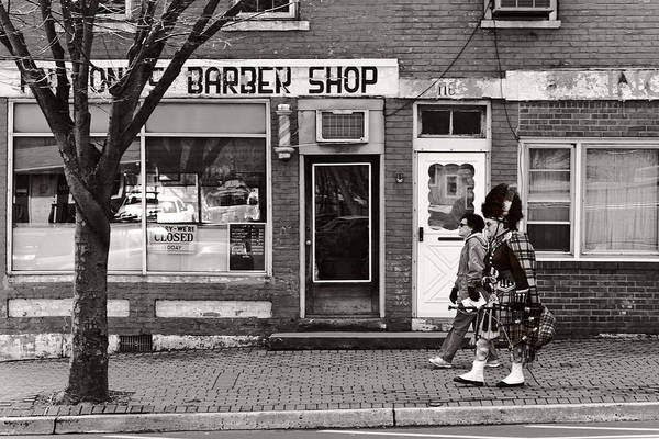 Photograph - Music - Bag Piper - Somerville Nj -  The Scottsman by Mike Savad