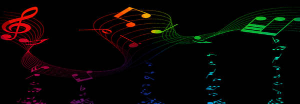 Mixed Media - Music Colors The World 1 by Angelina Tamez