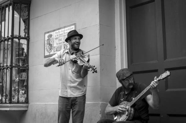 Photograph - Music In The French Quarter by David Morefield