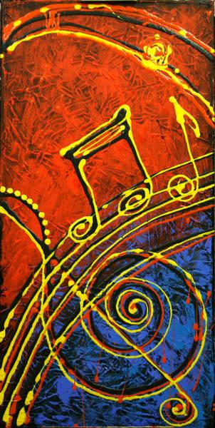 Wall Art - Painting - Music  by Leon Zernitsky