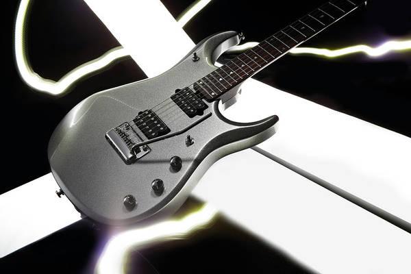 Guitarist Photograph - Music Man Signature Series Guitar by Total Guitar Magazine