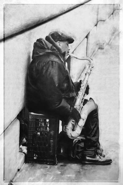 Photograph - Music On The Street by Alice Gipson