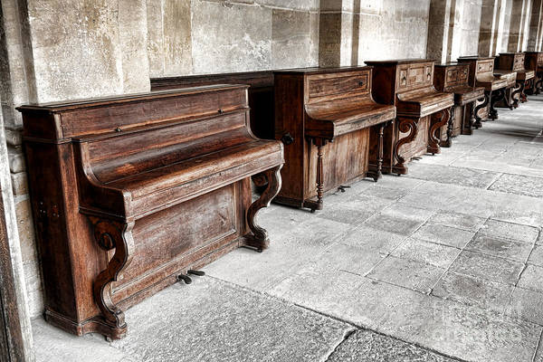Lessons Photograph - Music Row by Olivier Le Queinec