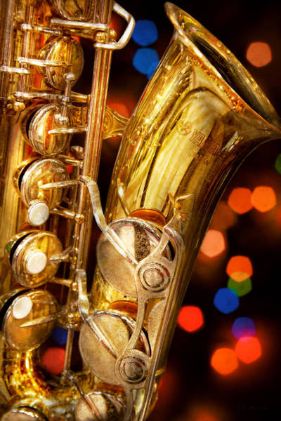 Wall Art - Photograph - Music - Sax - Very Saxxy by Mike Savad