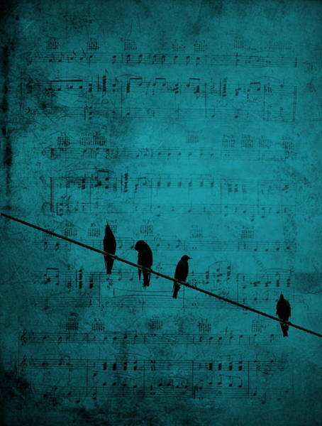 Art Print featuring the photograph Music Soothes The Soul by Andrea Kollo
