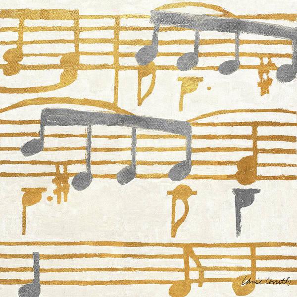 Wall Art - Painting - Music Stanzas I by Lanie Loreth