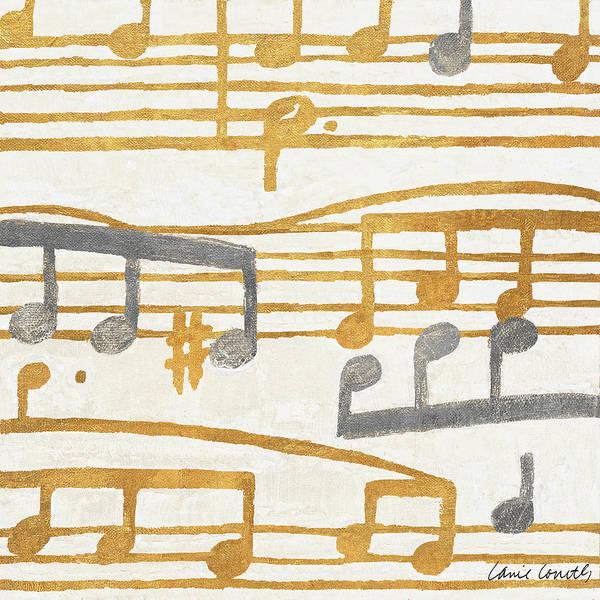 Wall Art - Painting - Music Stanzas II by Lanie Loreth