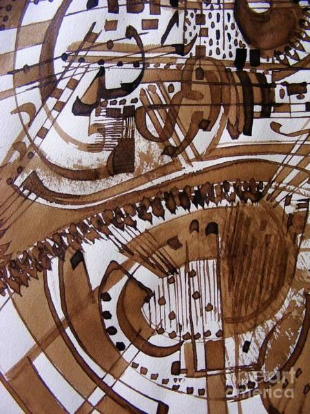 Musical Theme Painting - Musical 6 by Nancy Kane Chapman