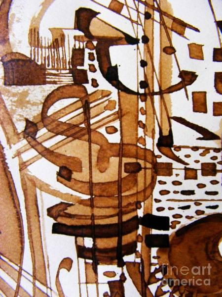 Musical Theme Painting - Musical 7 by Nancy Kane Chapman