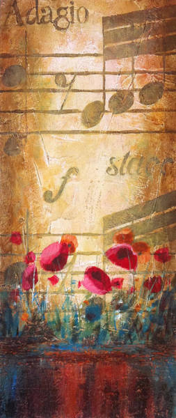 Sax Painting - Musical Garden Part 2 Of 2 by Christopher Clark