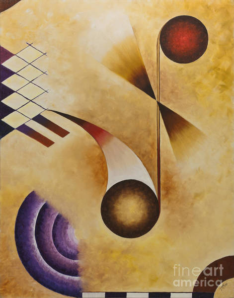 Painting - Musical Journey Iv by Teri Brown