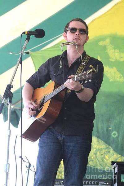 Folk Singer Photograph - Musician John Fullbright by Concert Photos